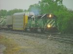 FURX leads a BNSF.